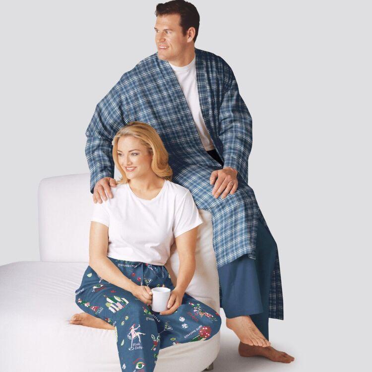 Simplicity Pattern 9131 Unisex Sleepwear