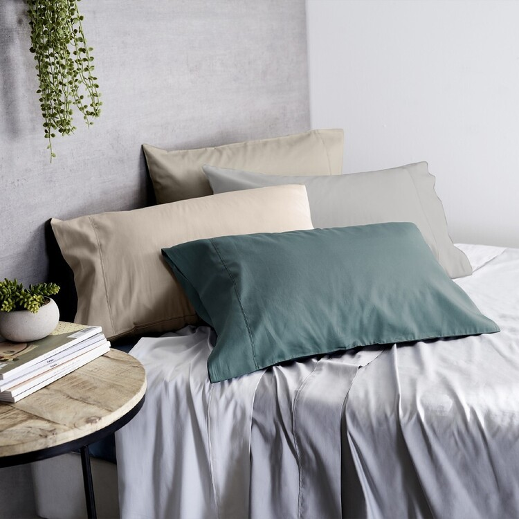 KOO 1000 Thread Count Standard Pillowcase 2 Pack
