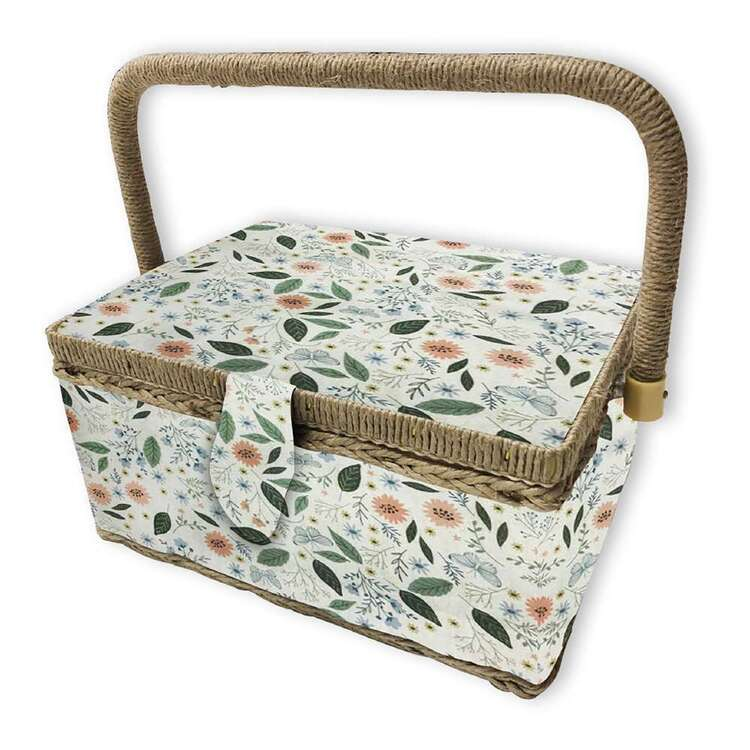 Birch Meadow Small Sewing Basket