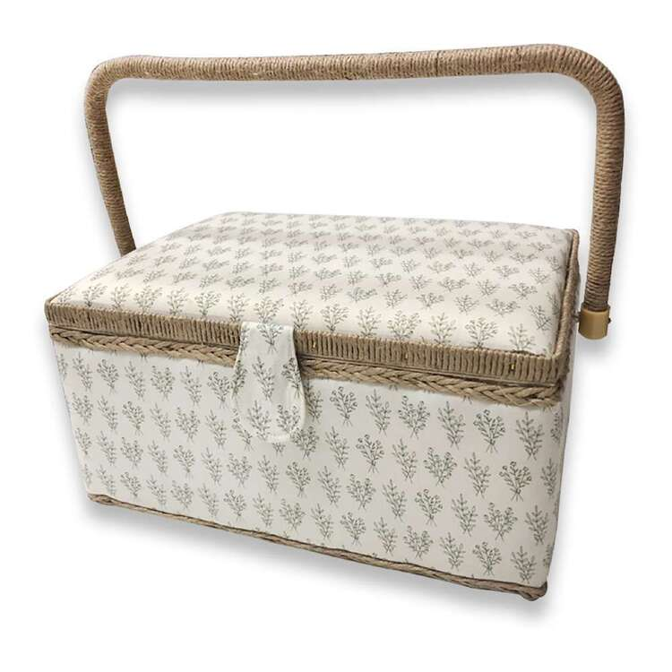 Birch Bouquet Large Sewing Basket