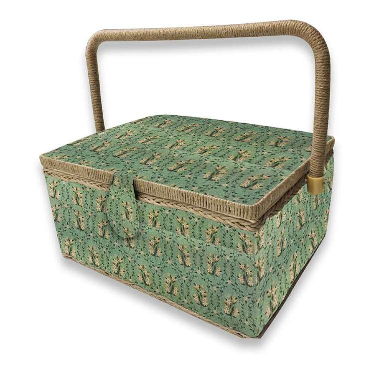 Birch Topiary Large Sewing Basket