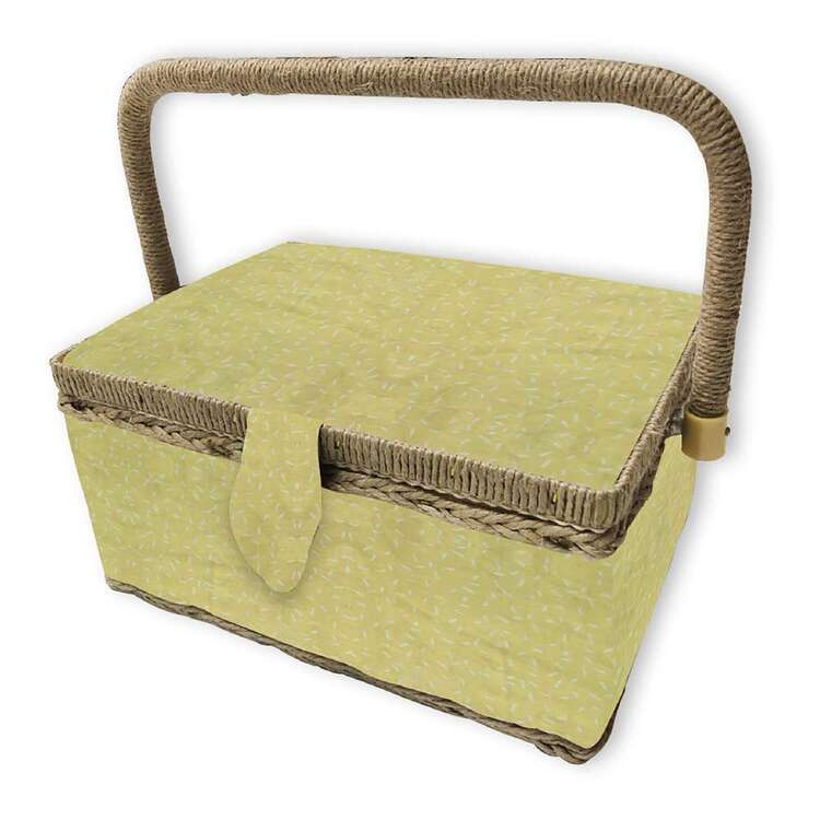 Birch Sunray Small Sewing Basket