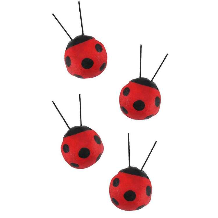 Critters 4 Pack Ladybirds
