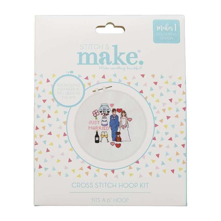 Stitch & Make Just Married Cross Stitch Hoop
