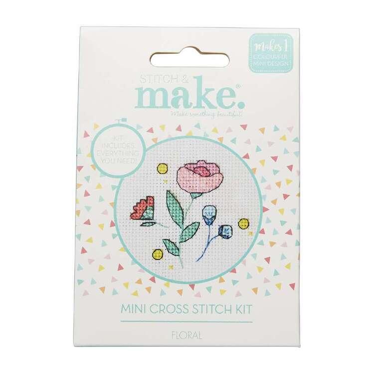 Stitch & Make Flower Mini Cross Stitch Kit
