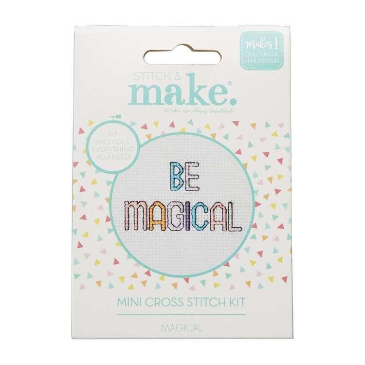 Stitch & Make Magical Mini Cross Stitch Kit