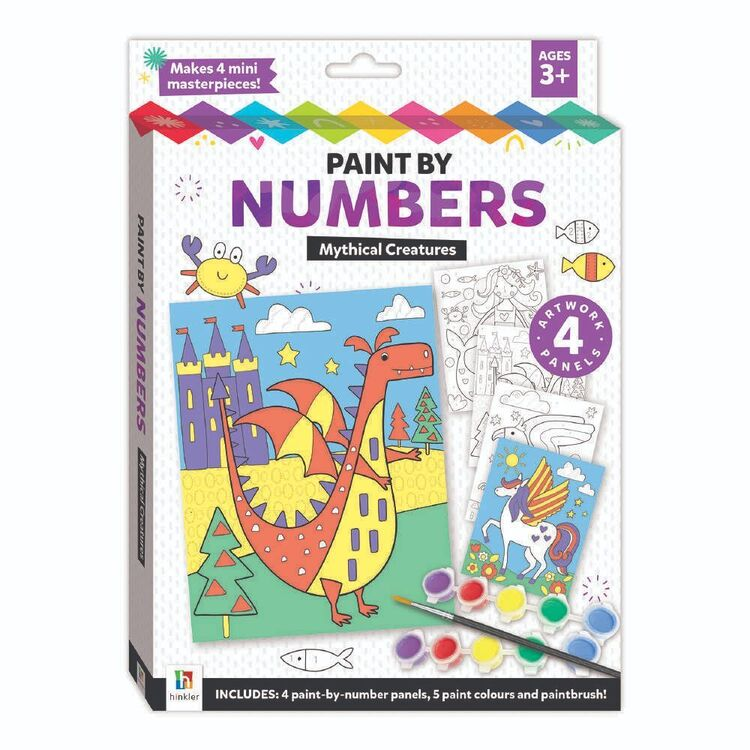 Hinkler Paint By Number Kit