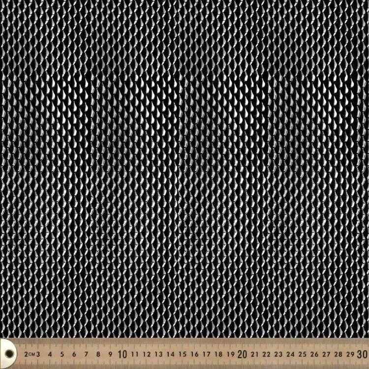 3D Textured Scale Polyurethane Fabric