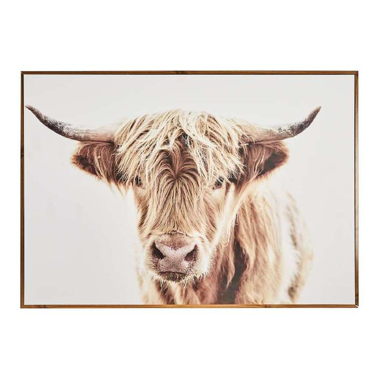 Cooper & Co Highland Cow Framed Print