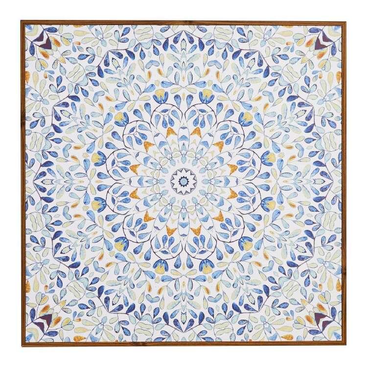 Cooper & Co Tile Mandala Framed Print