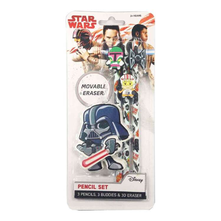 Disney Star Wars Darth Pencil Set
