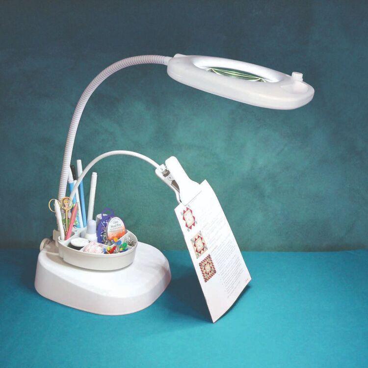 Triumph LED Magnifier Floor Lamp