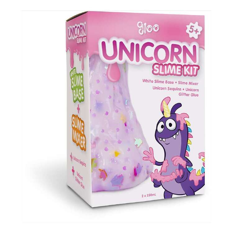 Gloo Unicorn Slime Kit