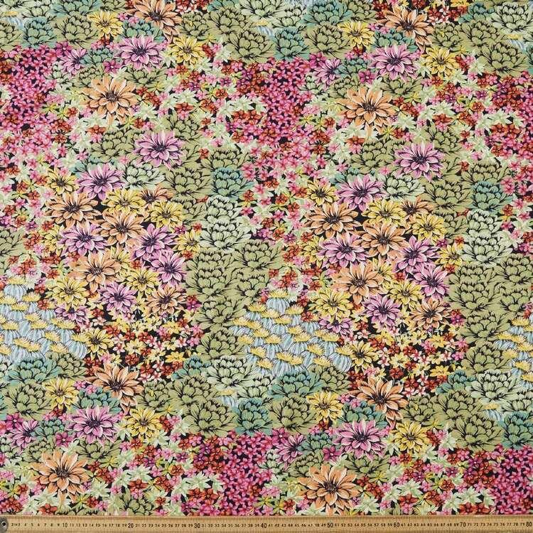 Bright Summer Days Printed 135 cm Rayon Fabric