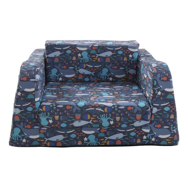 Kids House Flip Out Whale Sofa