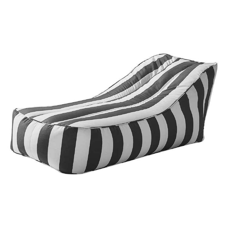 Noosa Stripe Bean Bag Lounger Cover