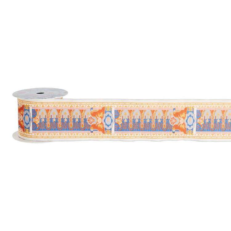 Oasis Living Folk Jacquard Ribbon