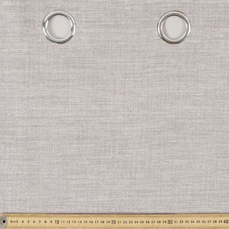 Gummerson Rylee Triple Weave Eyelet Cut, Hem & Hang Curtain Fabric