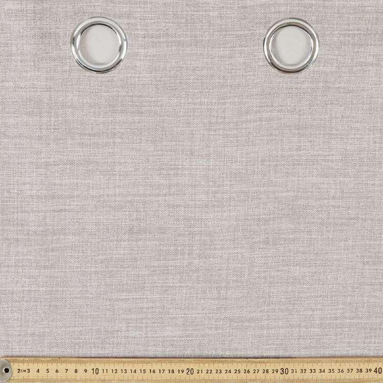 Gummerson Rylee Triple Weave Eyelet Cut, Hem & Hang Curtain Fabric