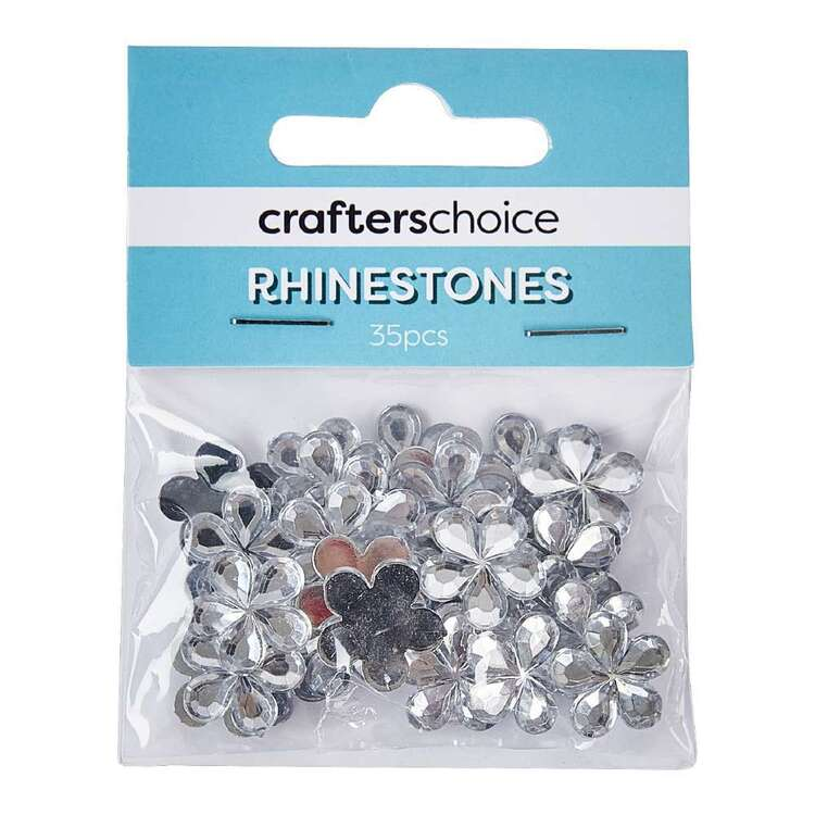 Crafters Choice Stick On Gems Pack 30 Pieces