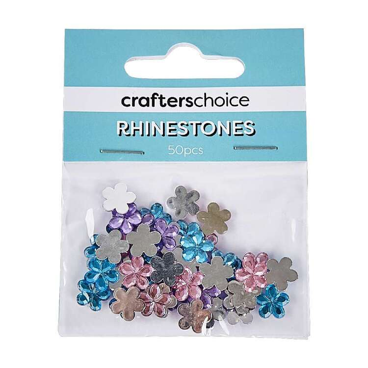 Crafters Choice Stick On Gems Pack 50 Pieces