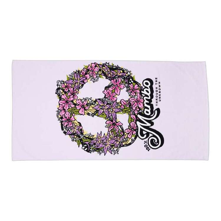 Mambo Flower Power Beach Towel