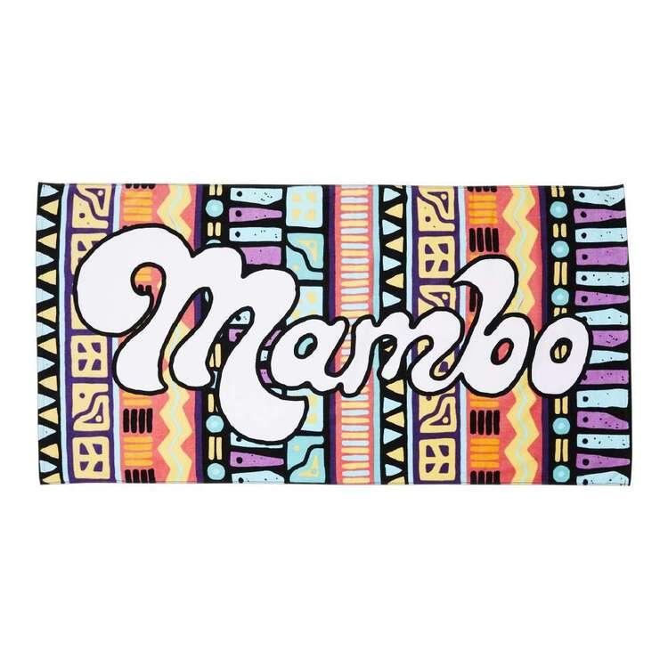 Mambo Retro Beach Towel