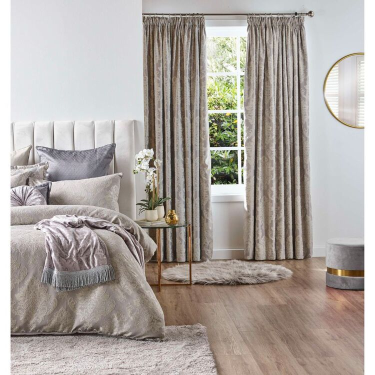 Ultima Adelyn Pencil Pleat Curtain