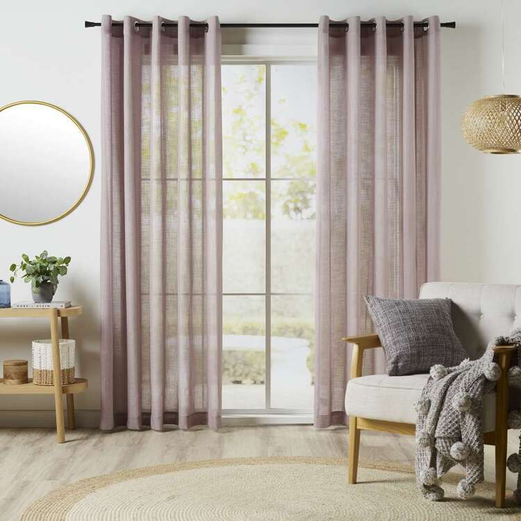KOO Linear Sheer Eyelet Curtains