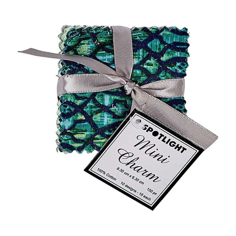 Mini Green Charm Pack 150 Pieces