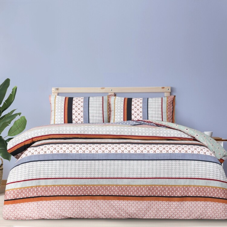 Brampton House Fletcher Quilt Cover Set