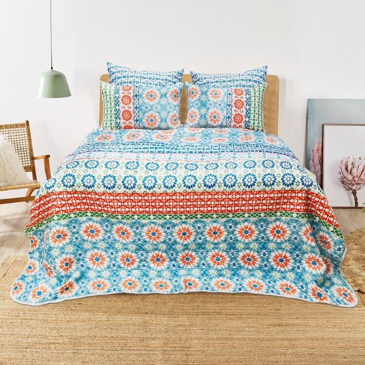 KOO Maya Quilted Coverlet