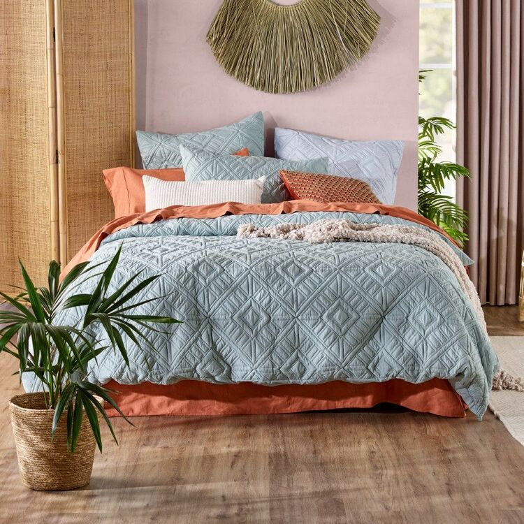 KOO Aggie Quilted Quilt Cover Set