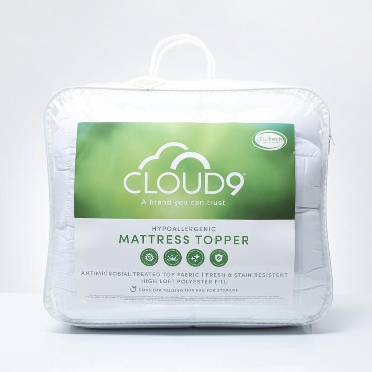 Cloud 9 Ultra Fresh Fitted Mattress Topper