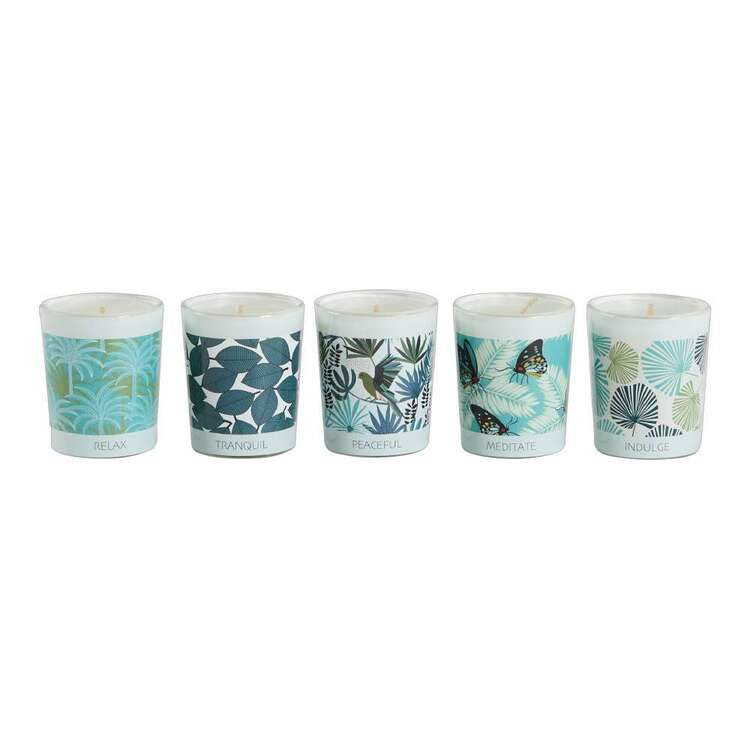 Koo Home Jocelyn Proust 5 Pack Palm Candle