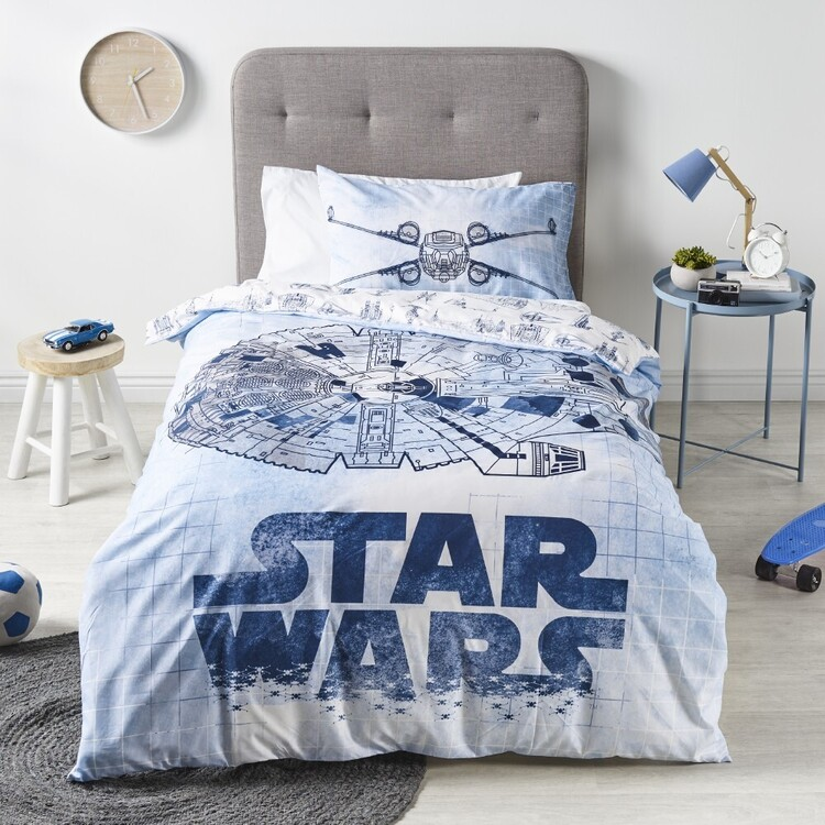 Star Wars Quilt Cover Set Multicoloured Single