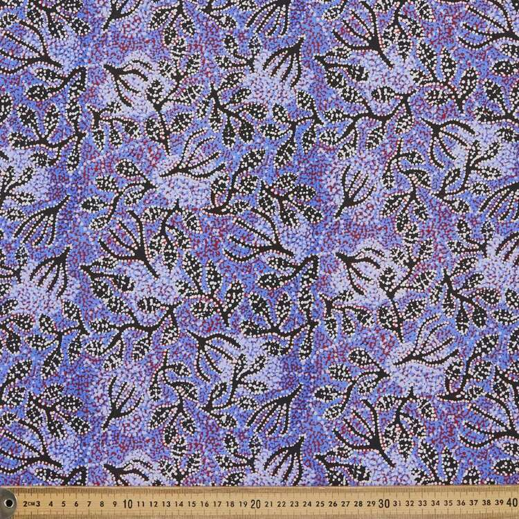 Water Dreaming Cotton Fabric