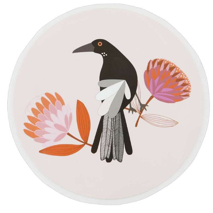 Jocelyn Proust Round Magpie Iron On Transfer