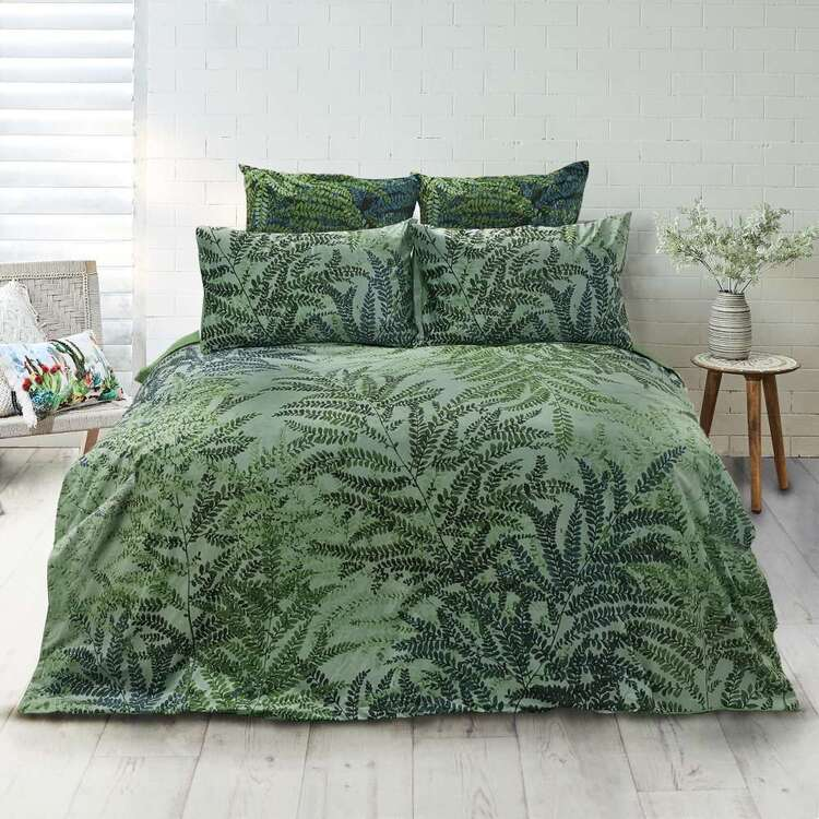 KOO Elite Fern Quilt Cover Set