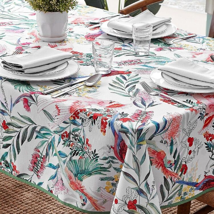 Koo Home Aus Bird Printed Tablecloth