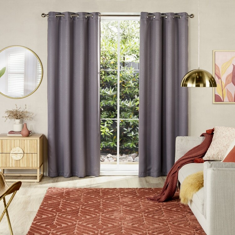 Emerald Hill Blake Triple Weave Eyelet Curtains