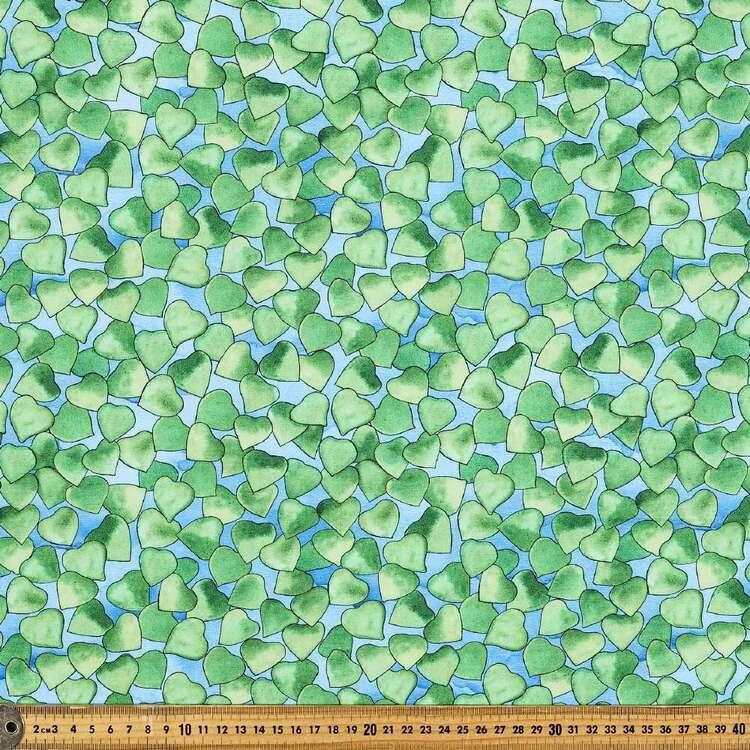 Woodland Fantasy Leaves Cotton Fabric