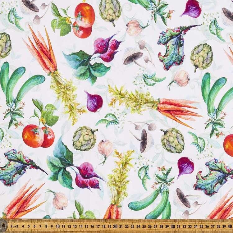 Blissful Bounty Allover Veggie Cotton Fabric
