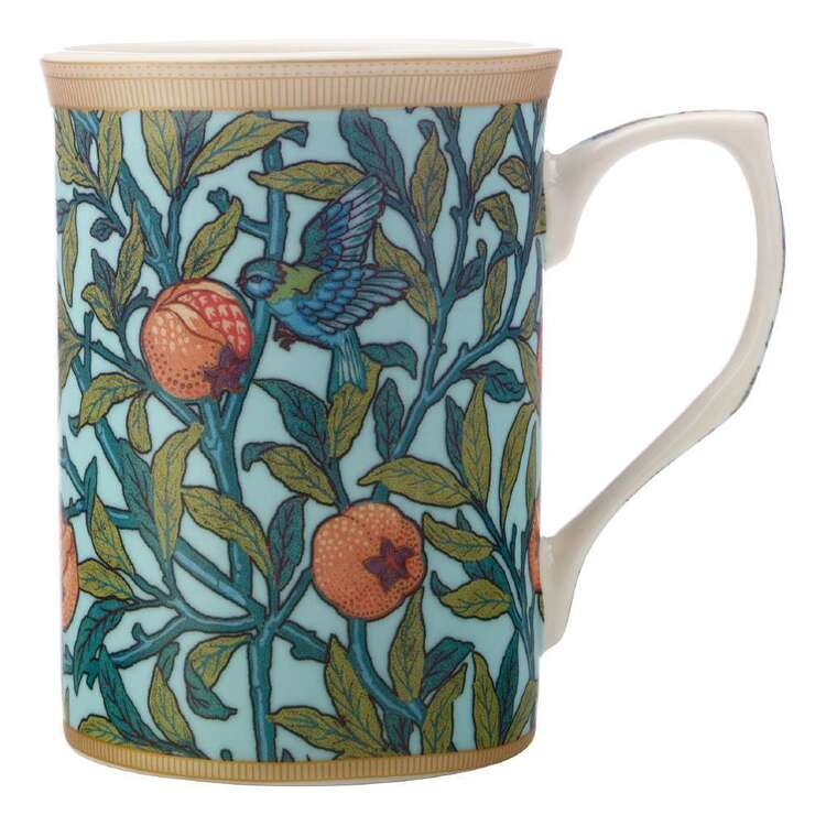 Casa Domani William Morris Bird & Pom Mug