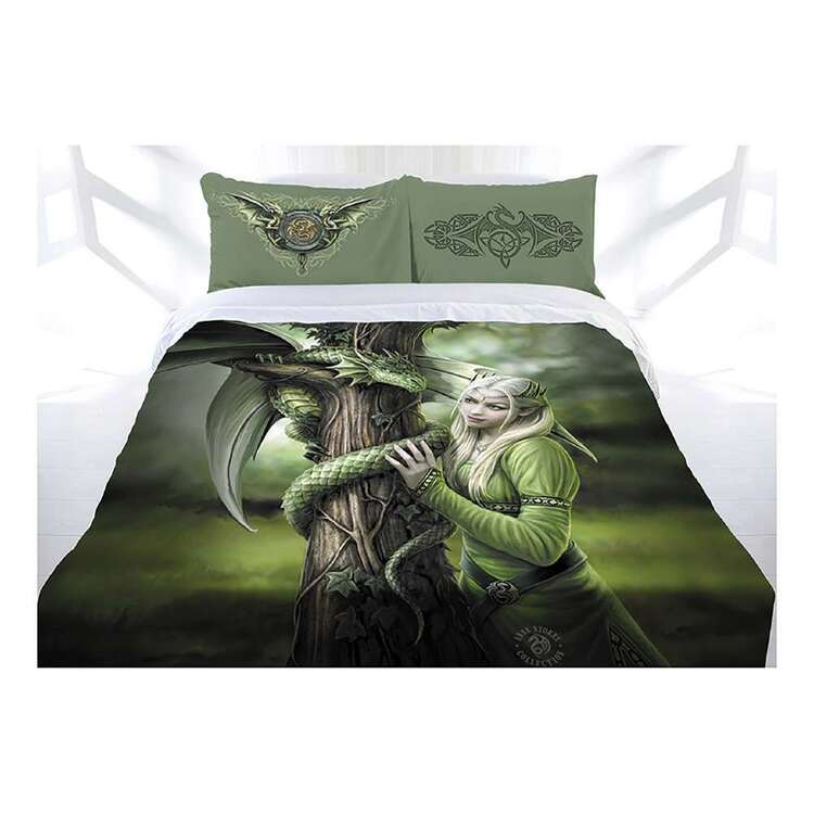 Anne Stokes Kindred Spirits Quilt Cover Set