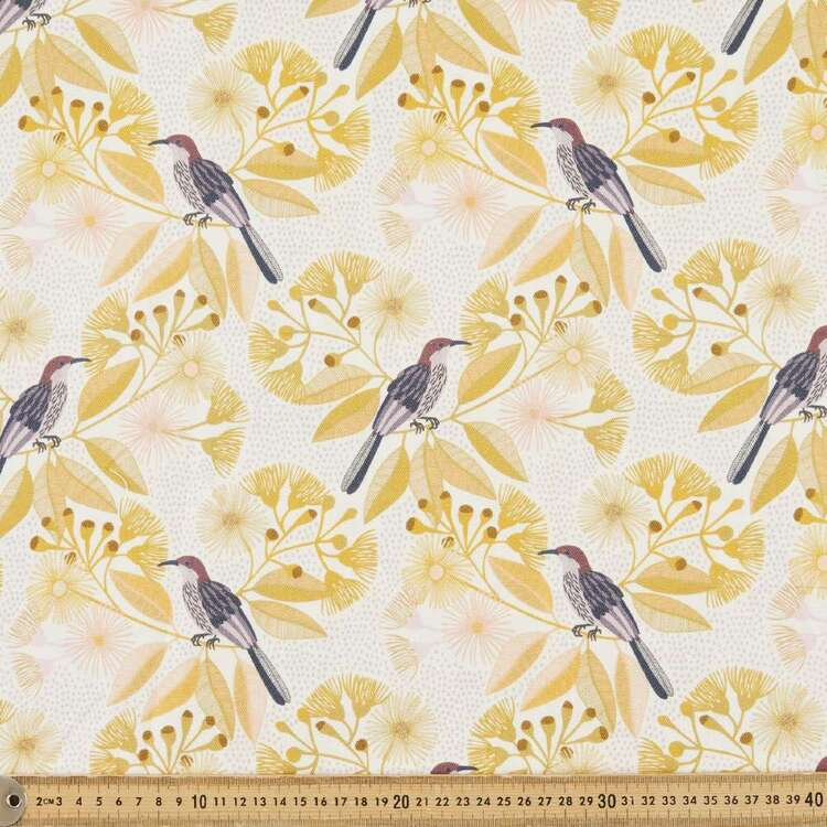 Jocelyn Proust Honey Eater Cotton Canvas