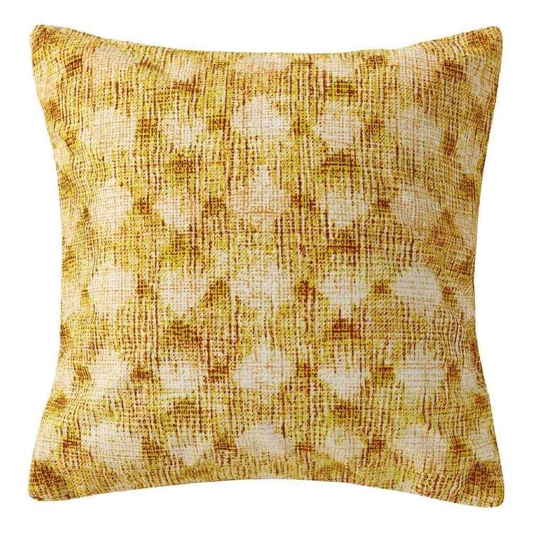 Ombre Home Urban Jungle Printed Diamond Cushion