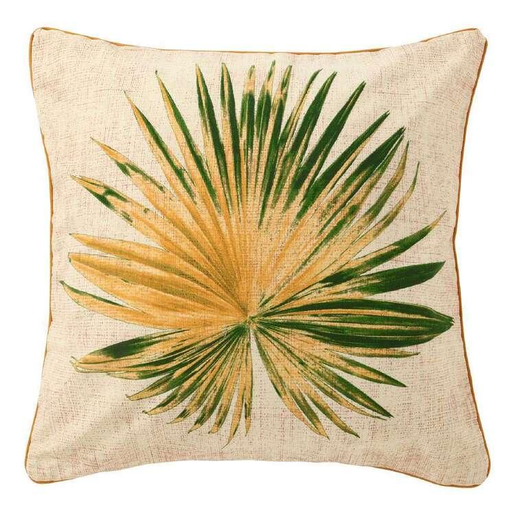 Ombre Home Urban Jungle Printed Fern Cushion