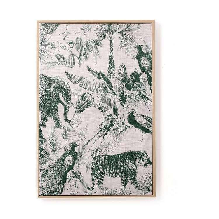 Ombre Home Urban Jungle Safari Print