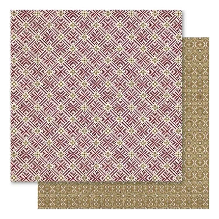 Ruby Rock-It Oriental Chic Motif Paper